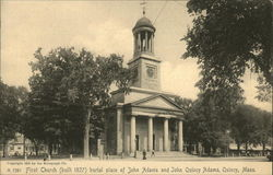 First Church (Built 1827), Burial Place of John Adams and John Quincy Adams