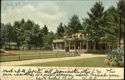 The Lawn and Cafe, Whalom Lake