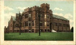 Dwight Memorial, Art Building, Mt. Holyoke College