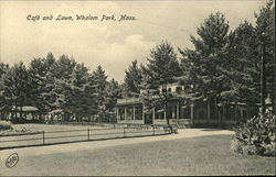 Cafe and Lawn, Whalom Park