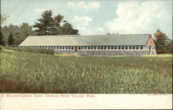 A Walker-Gordon Barn, Charles River Village Postcard