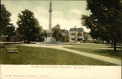 Orange Park and Soldiers Monument