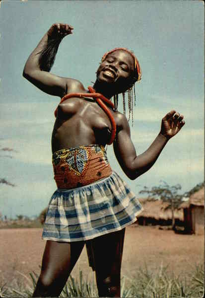 Africa in pictures. Nude Little Dancer