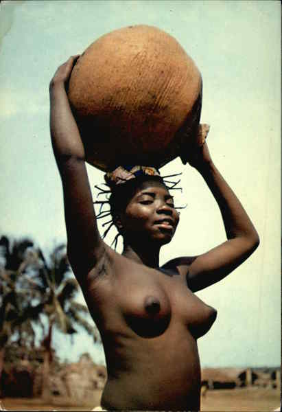 Africa in pictures.Nude Young girl