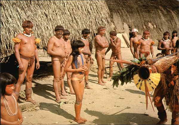 Nude - Indios Do Brasil Brazil Brazil: www.cardcow.com/404167/nude-indios-do-brasil-brazil