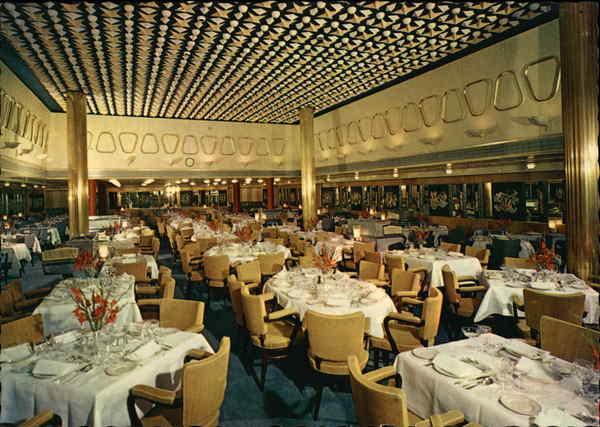 S S Rotterdam Dining Room Holland America Line Interiors