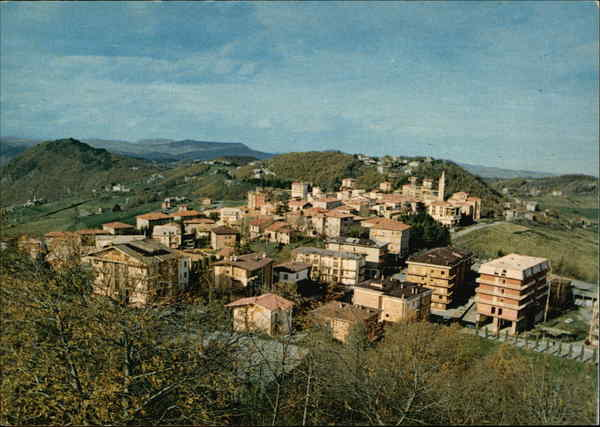 Panoramic View of Town Zocca Italy