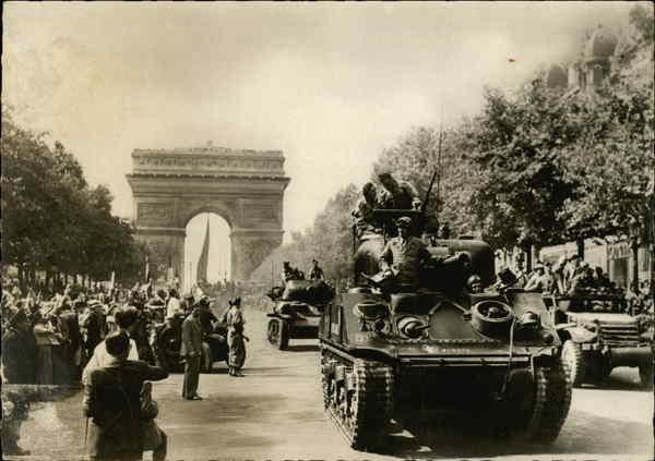 liberation of paris world war ii: