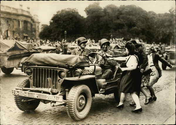 liberation of paris world war ii: