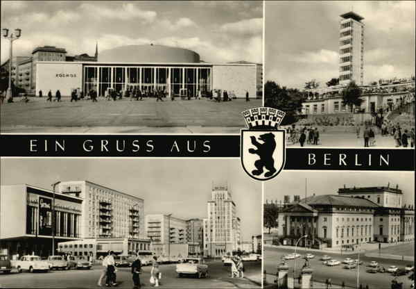 Berlin- the capital city of DDR Germany