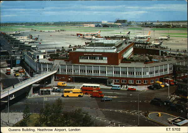 Queens Building, Heathrow Airport, London England