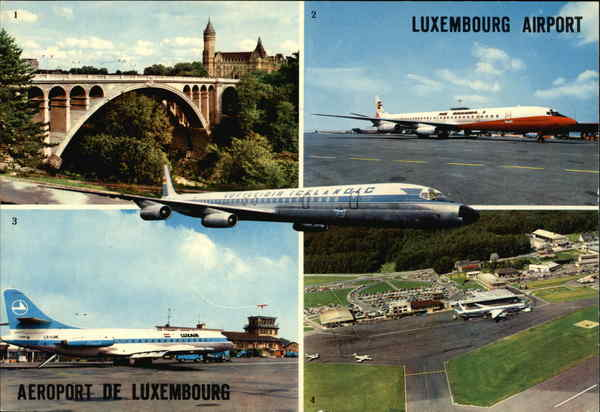 Luxembourg Airport / Aéroport de Luxembourg Airports