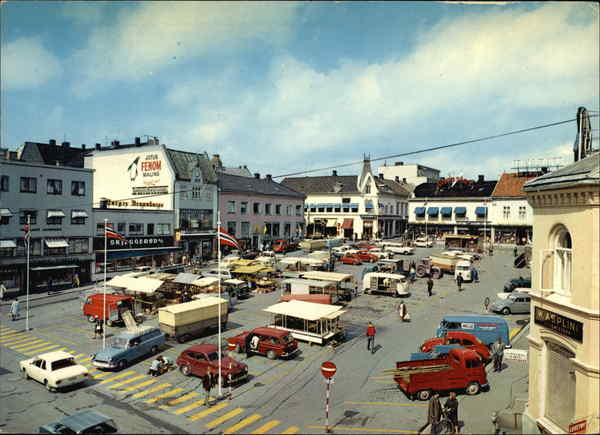 Tonsberg Norway  City new picture : Market Place Tonsberg, Norway