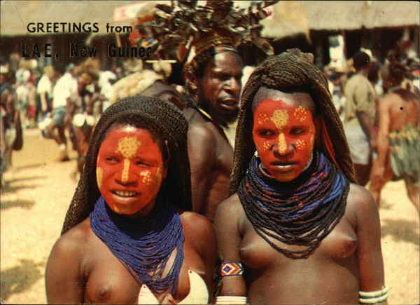 Highland Girls, New Guinea