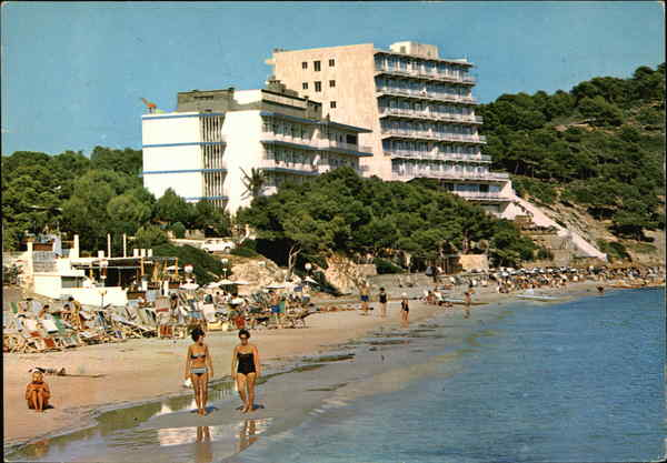 Beach Hotels, Magalluf Mallorca Spain Spain, Portugal