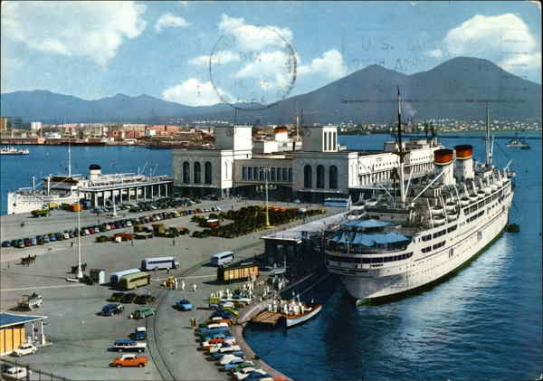 Maritime Station Naples Italy