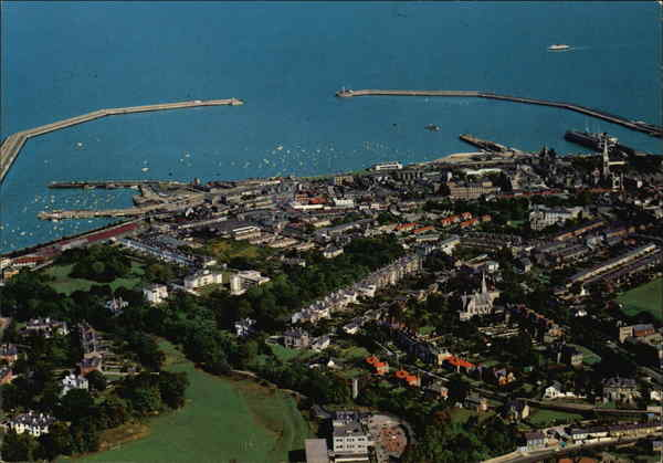 Aerial View of Dun Laoghaire Ireland