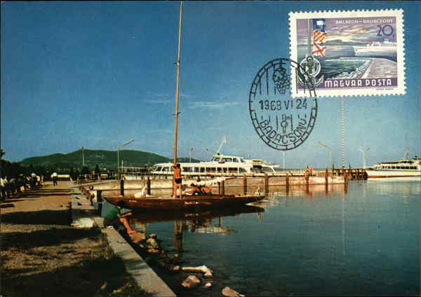 Lake Balaton Hungary Maximum Cards