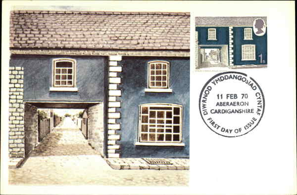 British Architecture- STWCO Cymreig- Welsh Stucco Maximum Cards