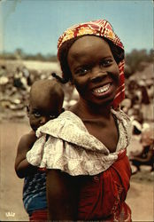 Afrique en couleurs - Jeune Maman / Africa in pictures / Young mammy
