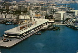 The newly completed Ocean Terminal of Tsimshatzui, Kowloon Postcard