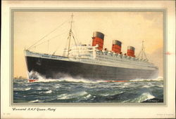 "Cunard R.M.S. ""Queen Mary"""