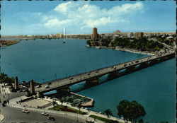 The Nile and Tahrir Bridge