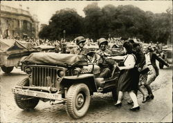 Liberation of Paris - Welcome to The Jeeps