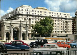 Marble Arch and the Cumberland Hotel