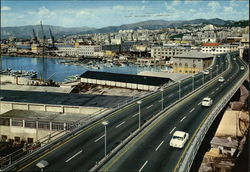 Port with Elevated Motor-road