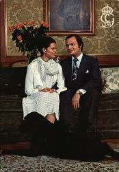 H.M. King of Sweden Carl XVI Gustaf and Silvia Sommerlath