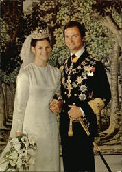 H.M. Carl XVI Gustaf and H.M. Silvia, King and Queen of Sweden