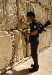 Soldier by The Western Wall