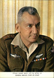 General Bar-Lev, chief-of-staff