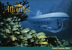 Atlantis Submarine. Grand Cayman, B.W.I