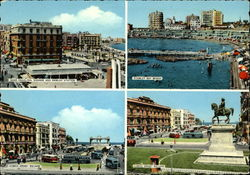 Saad Zaghloul Square, Ramlen Station, Stanley Bay Beach, and Ahmed Oraby Square Postcard