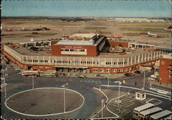 Queen's Building, London Airport Postcard