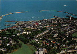 Aerial View of Dun Laoghaire