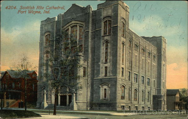 Scottish Rite Cathedral Fort Wayne Indiana