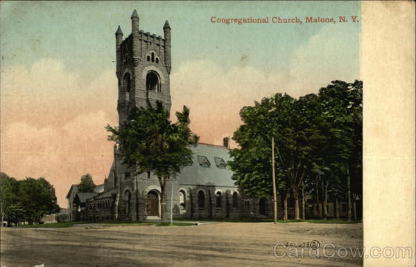 Congregational Church Malone New York