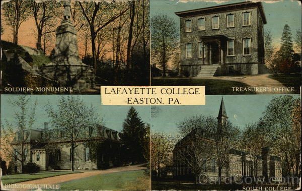Lafayette College Easton Pennsylvania