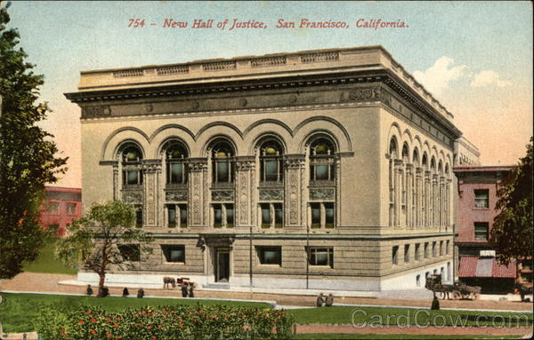 New Hall of Justice San Francisco California