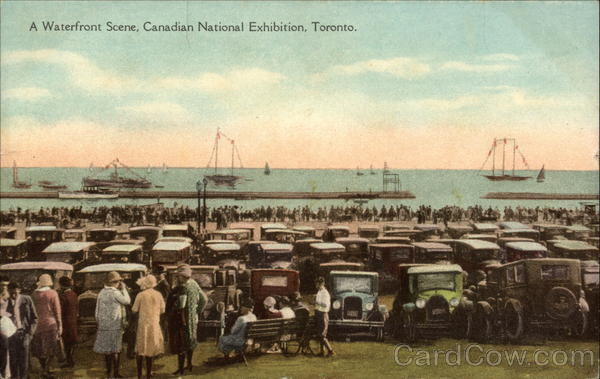 A Waterfront Scene, Canadian National Exhibition Toronto Canada