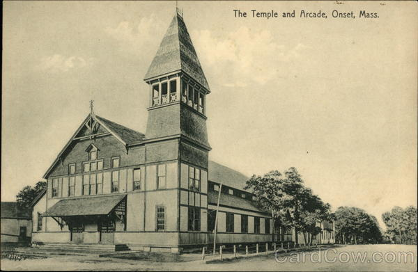 The Temple and Arcade Onset Massachusetts