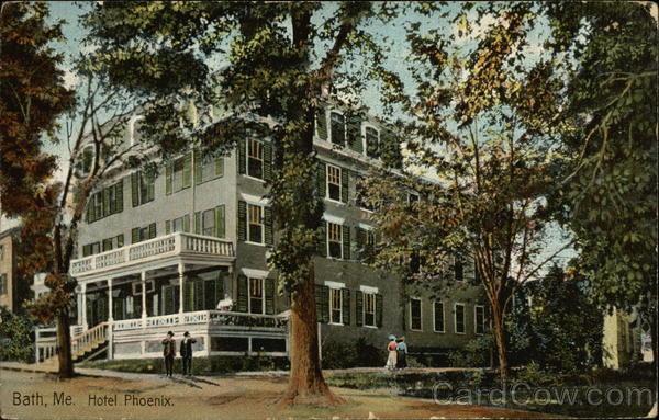 Hotel Phoenix Bath Maine