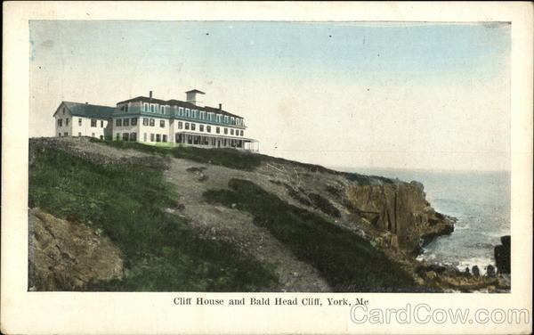 Cliff House and Bald Head Cliff Maine