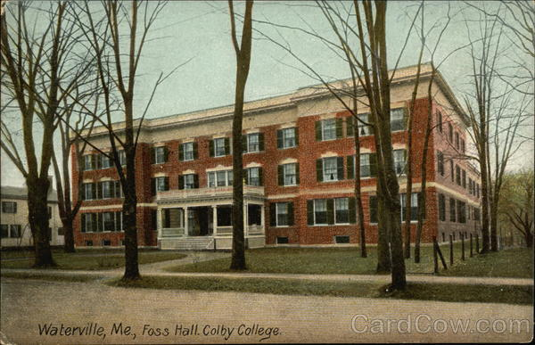 Colby College - Foss Hall Waterville Maine