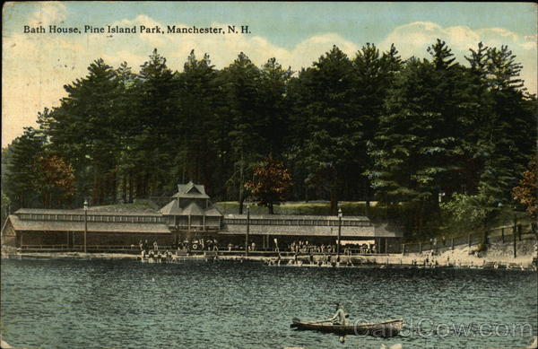 Bath House, Pine Island Park Manchester New Hampshire