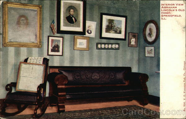 Interior View Abraham Lincoln 39 S Old Home Springfield Il