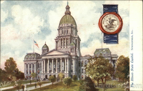 The Illinois State Capitol Springfield